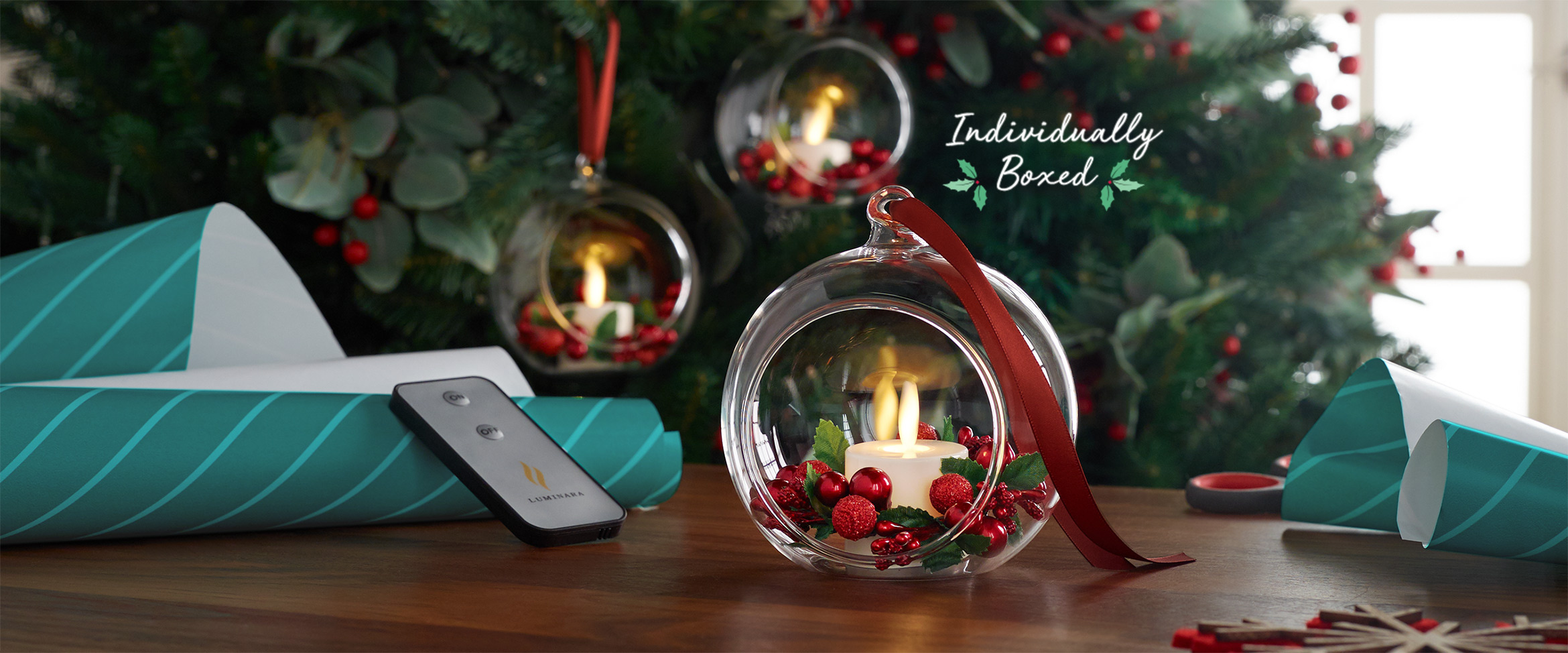 Glass Blown Christmas Ornaments