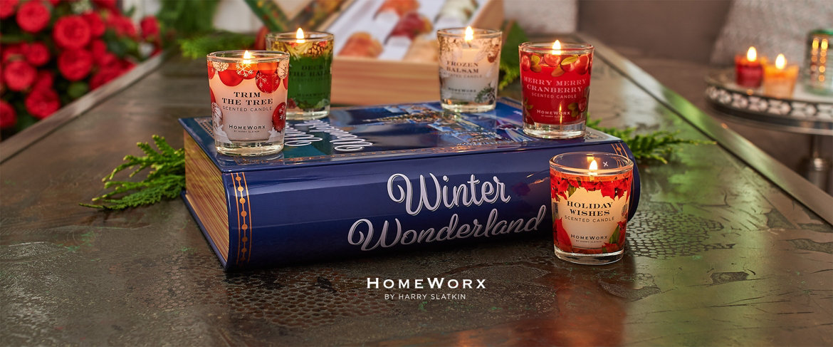 HomeWorx by Harry Slatkin Storybook Candle Sampler Today's Special Value®