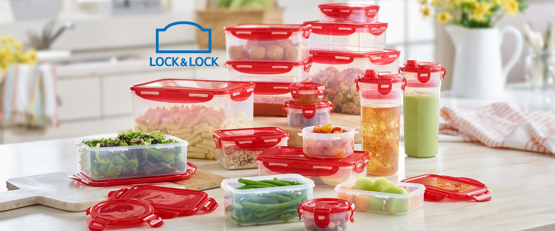 (QVC) Lock U0026 Lock 18 Piece Storage Set