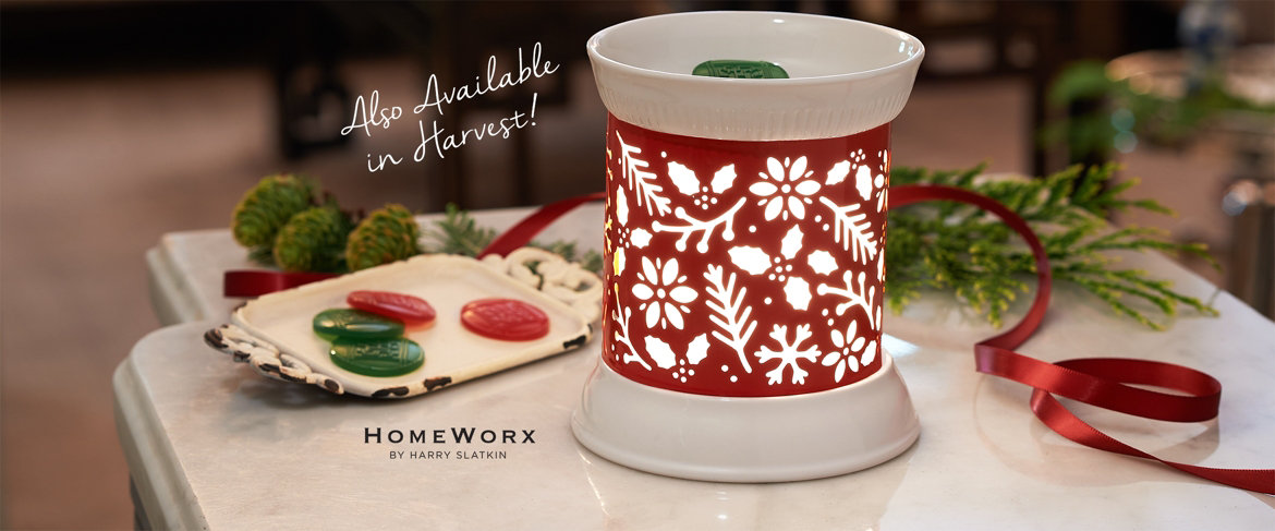 Today's Special Value® — HomeWorx by Harry Slatkin Warmer with Sleeves & Gels