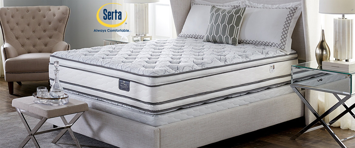 innerspring sleeper signature top serta mattress by seals qvc perfect excursion hotel only super spt pillow ps mattresses