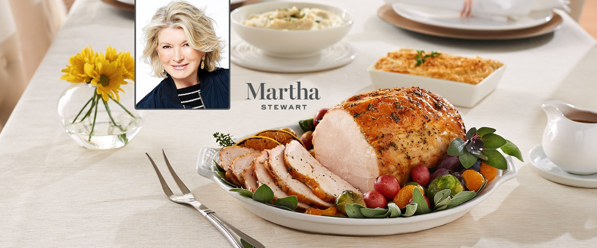 Today's Special Value® — Martha Stewart 4.25 lb. Turkey Breast w/ Butter & (2) 2 lb Sides