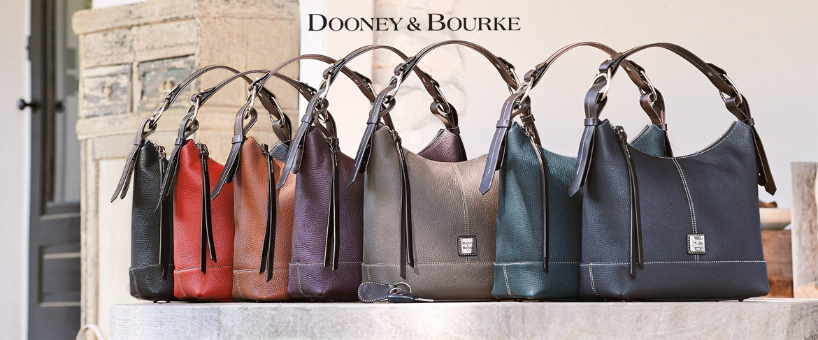 Today's Special Value® — Dooney & Bourke Pebble Leather Hobo Handbag-Gracie
