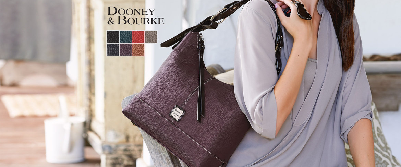 Today's Special Value® — Dooney & Bourke Pebble Leather Hobo Handbag-Gracie
