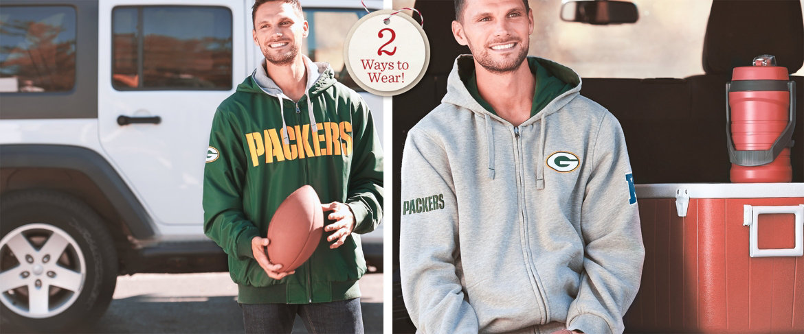 Today's Special Value® — NFL Reversible Hoodie and Jacket in Team Colors