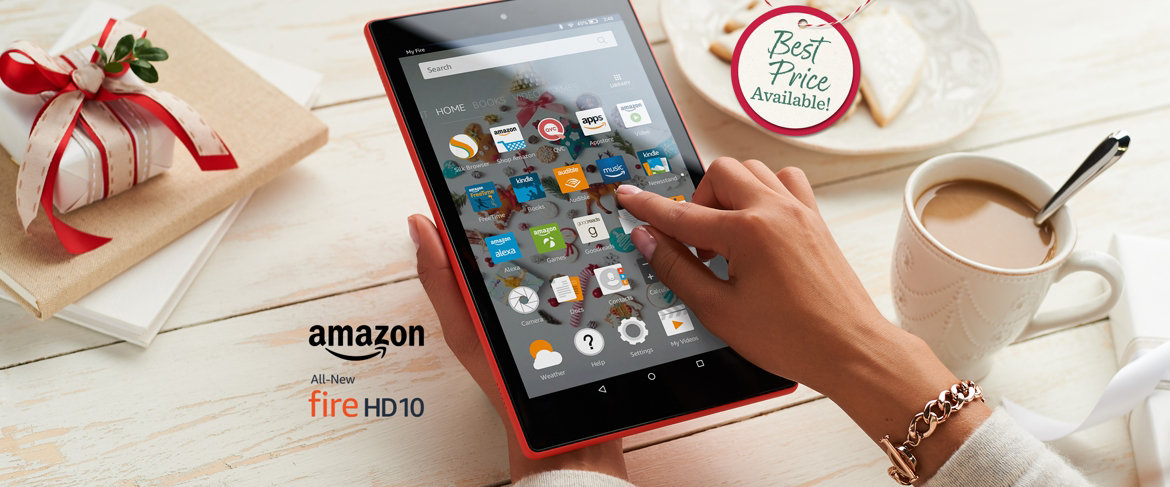 QVC) All-New 2017 Amazon Fire 10