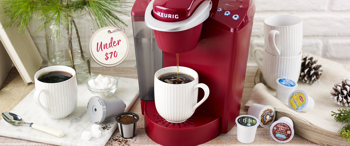 Today's Special Value® — Keurig K55 Coffee Maker w/ My K-Cup, 43 K-Cups & Water Filters