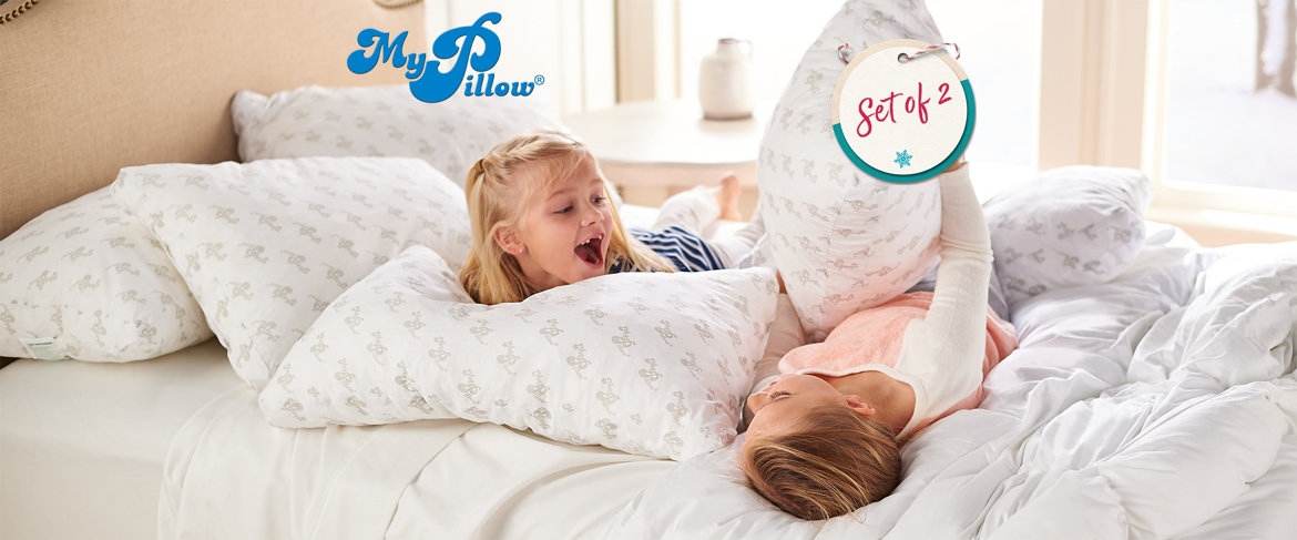 Today's Special Value® — MyPillow Set of 2 Premium Pillows with Supima Cotton