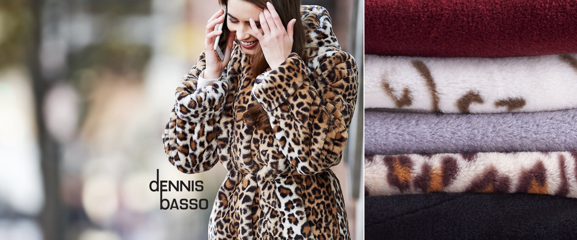 Today's Special Value® — Dennis Basso Zip Front Faux Fur Coat with Hood & Waist Detail