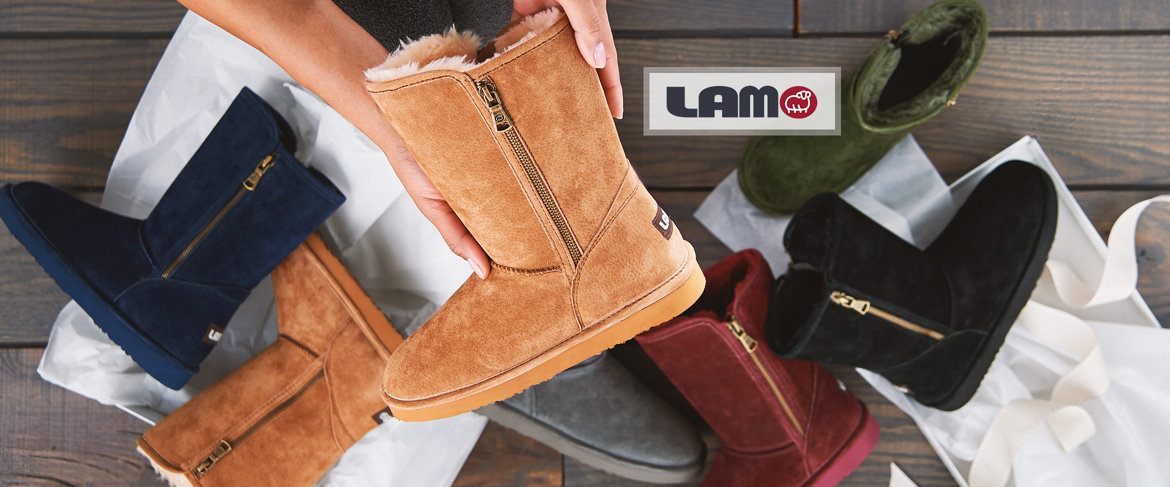 Today's Special Value® — Lamo Water and Stain Resistant Suede Boots -Juniper