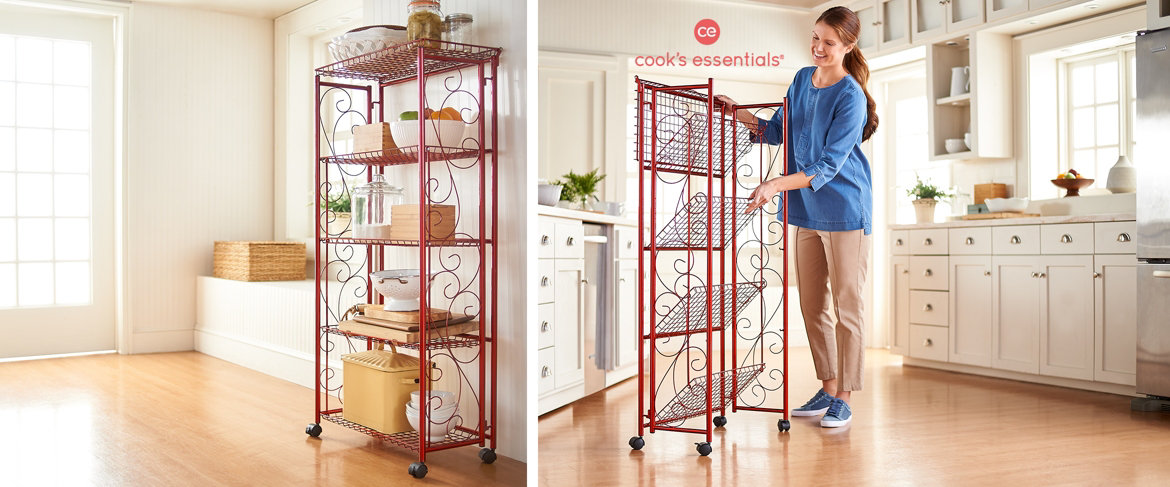 Today's Special Value® — Cook's Essentials 5-Tier Deluxe Folding Storage Rack