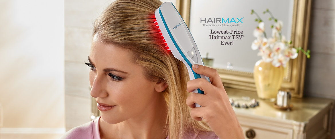 Today's Special Value® — HairMax Prima 9 Hair Growth Laser Comb