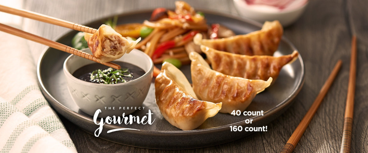 Today's Special Value® — Perfect Gourmet 40 or 160 Count Potstickers