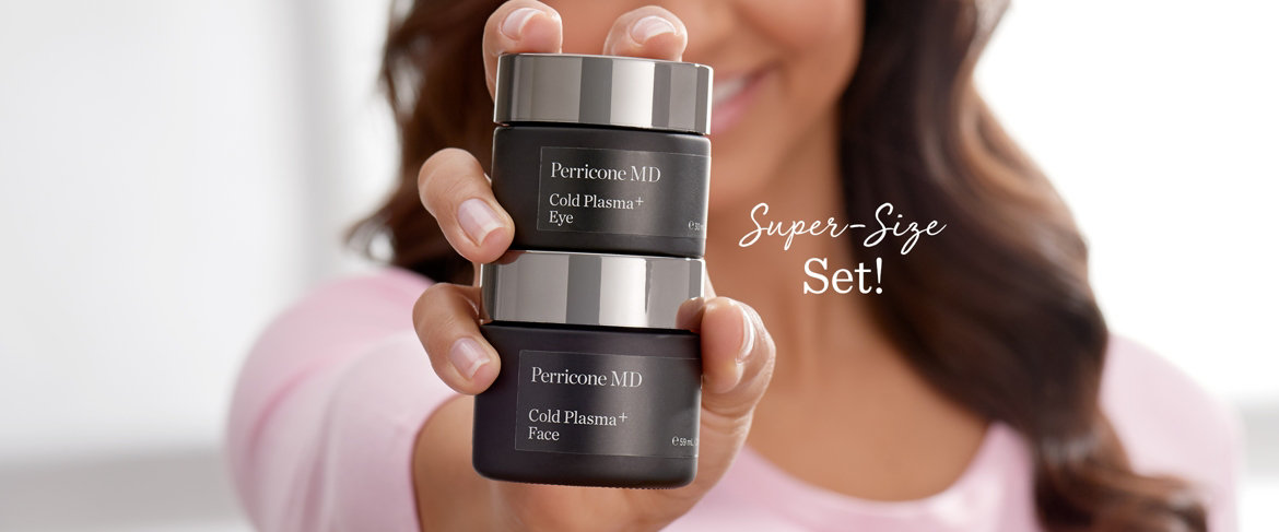Today's Special Value® — Perricone MD Super-Size Cold Plasma+ Face & Eye Collection