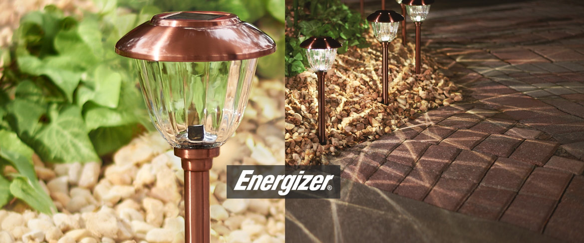 Today's Special Value® — Energizer 8-piece Solar Landscape Light Set