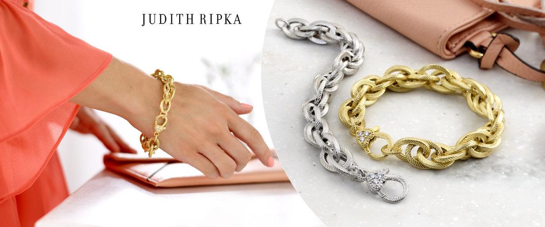 Today's Special Value® — Judith Ripka Verona Sterling Silver or 14K Clad Bracelet 00.0g