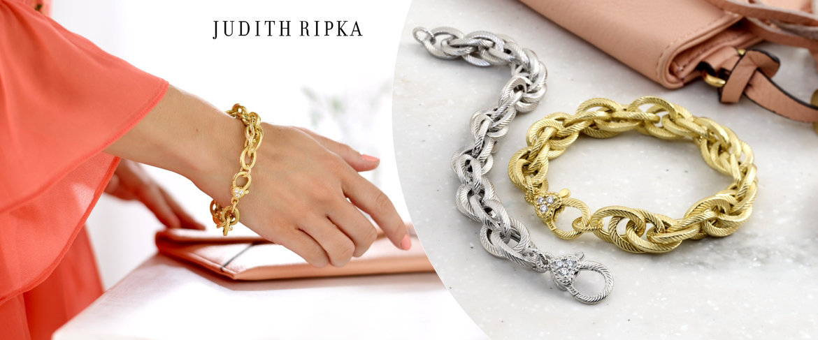 Today's Special Value® — Judith Ripka Verona Sterling Silver or 14K Clad Bracelet 00.0g