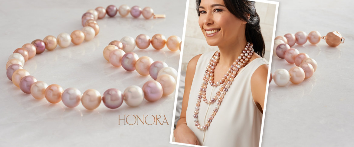 Today's Special Value® — Honora Ming Cultured Pearl Strand Necklace, Sterling Silver