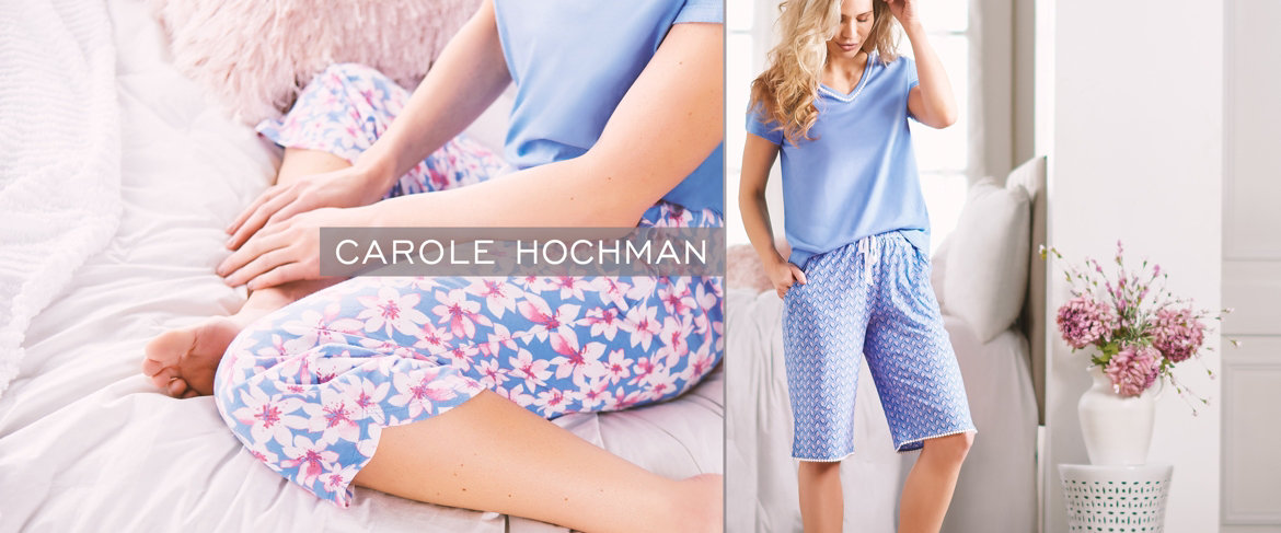 Today's Special Value® — Carole Hochman Floral Blossoms Cotton Jersey 3 pc Pajama Set