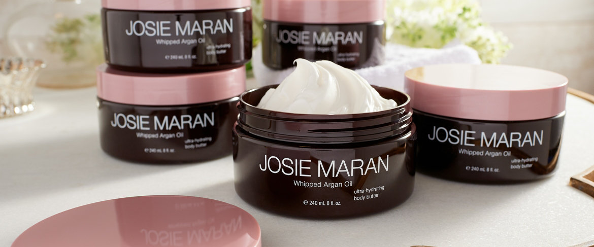 Today's Special Value® — Josie Maran Set of 5 Whipped Argan Body Butters, 8 oz.