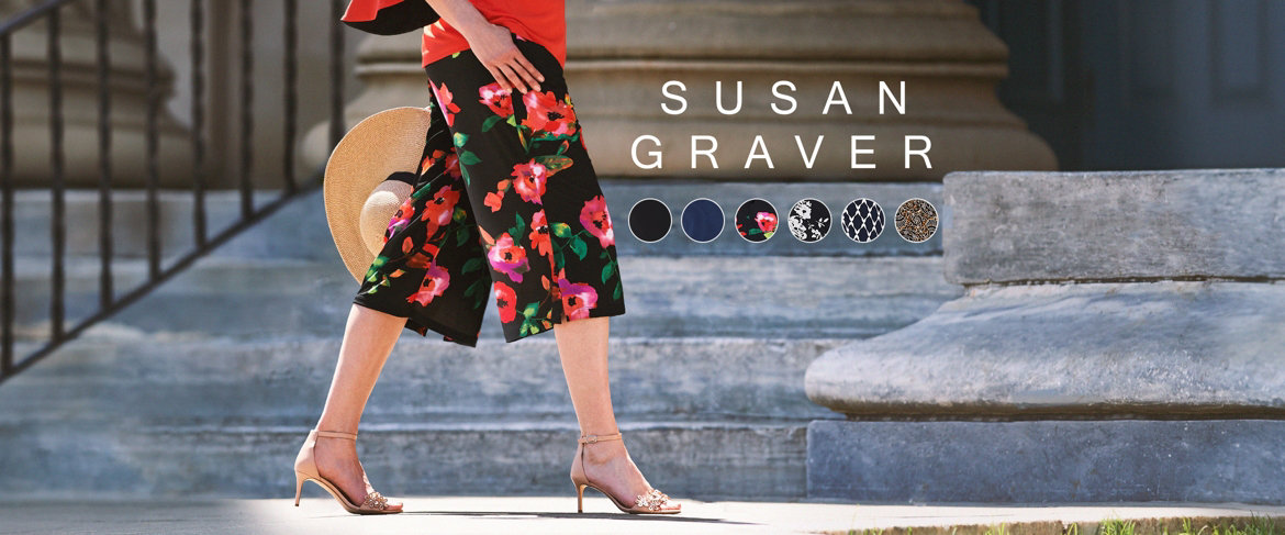 Today's Special Value® — Susan Graver Liquid Knit Pull-On Wide Leg Crop Pants