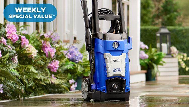 Weekly Special Value™ — A Fresh Start — Snap up this Blue Clean Pressure Washer offer