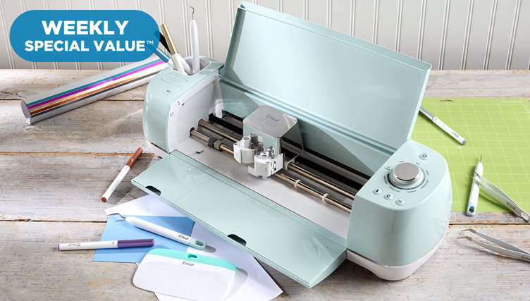 Weekly Special Value™ — Online-Only Buy — Cricut Explore Air™ 2 Machine & Metallic Bundle