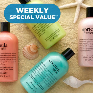 Weekly Special Value­™ — philosophy — Browse the brand & enjoy offers on select items