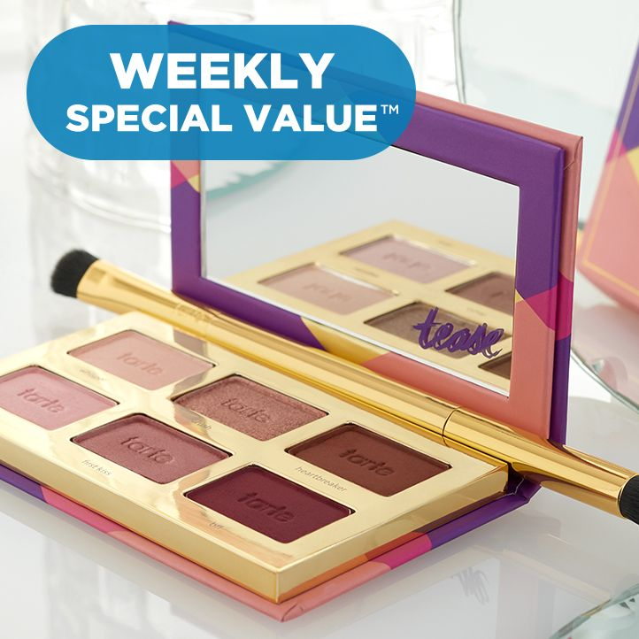 Weekly Special Value™ — tarte Palette & Brush