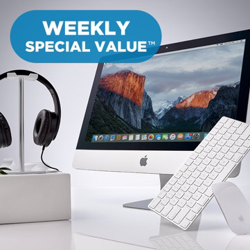 "Weekly Special Value™ — Online-Only Buy! — 21.5"" iMac® Computer with Accessories"