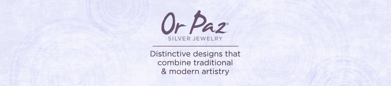 Or Paz. Distinctive designs that combine traditional & modern artistry