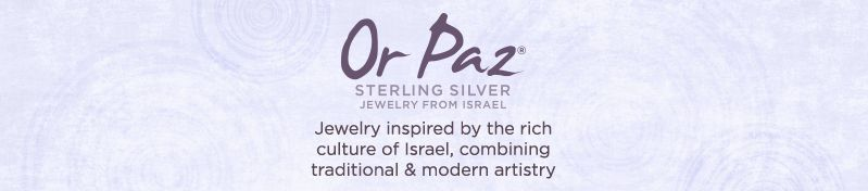 Jewelry inspired by the rich culture of Israel, combining traditional & modern artistry