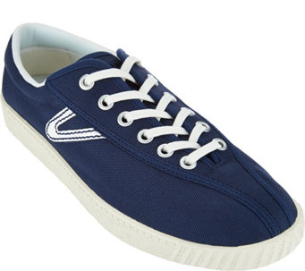 Tretorn Canvas Lace Up Sneakers - Nylite - S8501