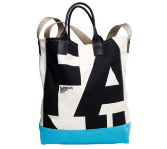Vogue-Designed FNO Fashion Targets Breast Cancer CFDA Tote - S6404