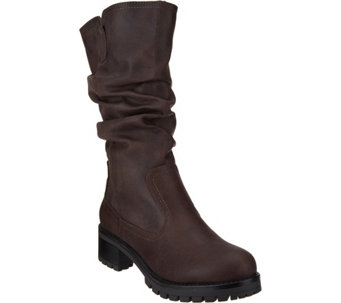 White Mountain Seven Dials Chunky Style Mid Shaft Boots - S8309
