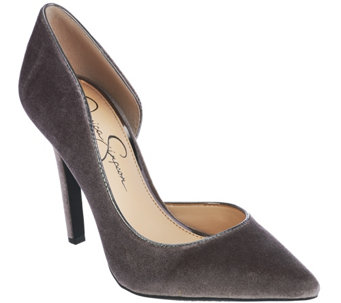 Jessica Simpson Pointed Toe Pumps - Claudette - S8410