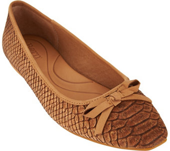 Born Textured Ballet Flats- Carri - S8513
