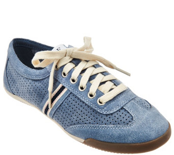 ED by Ellen Degeneres Perforated Canvas Sneakers - Escondido - S8417