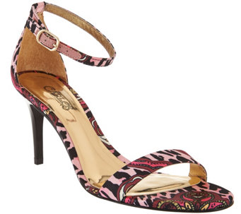 Carlos by Carlos Santana Ankle Strap Dress Sandals - Sunset - S8422