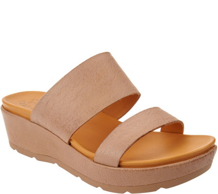 Kork Ease Kane Two Strap Platform Sandals