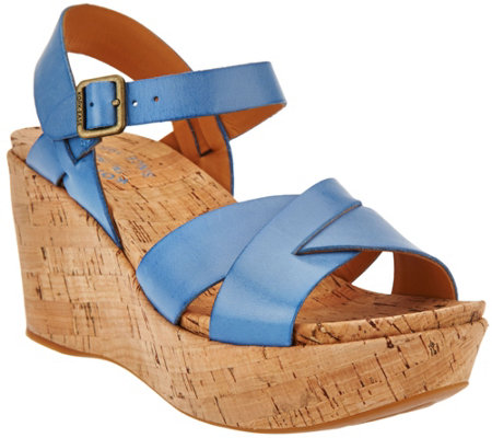 Kork-Ease Original Platform Cork Wedges - Ava