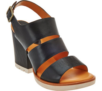 Kork-Ease Open Toe Three-Strap Sandals - Lenny - S8535