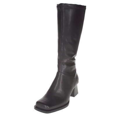 buster brown s side zip boots qvc