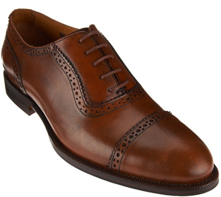 Vince Camuto Mens Cap Toe Oxfords- Benli