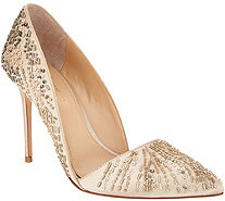 Imagine by Vince Camuto Ova Embellished d'Orsay Pumps - S8840