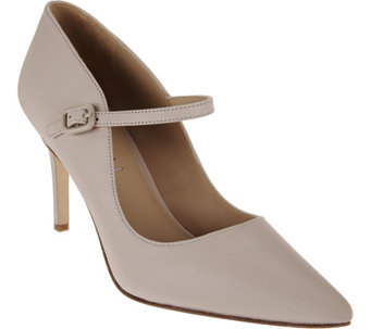 Via Spiga Pointed Toe Mary Jane Pumps - Camilla - S8541