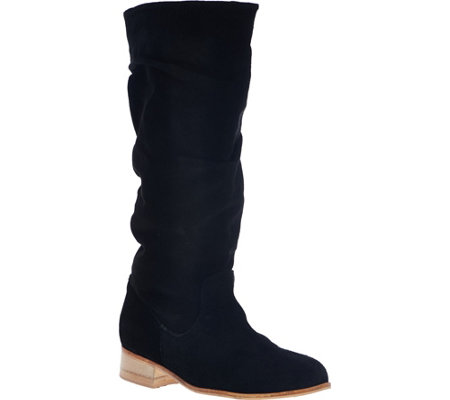 CHARLES BY CHARLES DAVID Suede Mid-Calf Boots- Joan