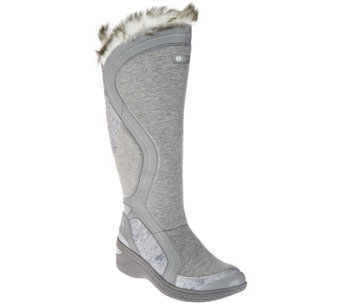 BZees Canvas Winter Boots w/ Cloud Tech - Decadent - S8546