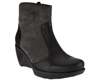 Naot Wedge Ankle Booties - Sky - S8451