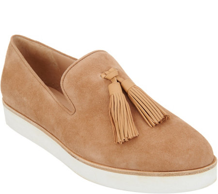Via Spiga Toni Slip On Tassle Sneakers